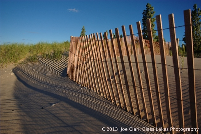 Sand Fence In Glen Haven Mynorth Com