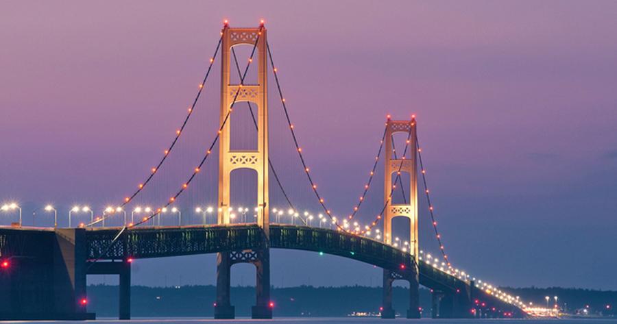 The Mackinac Bridge - mynorth.com