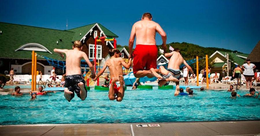 Northern Michigan pools