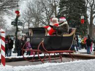 northern michigan holiday parades