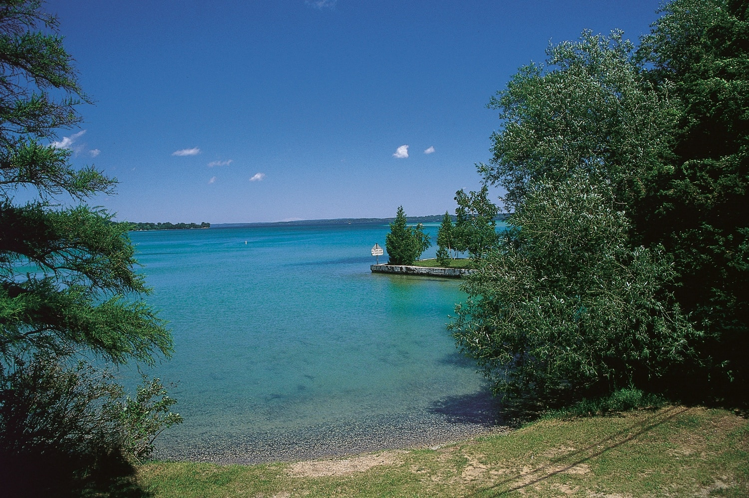 Iconic Outdoor Attraction Torch Lake In Northern Michigan
