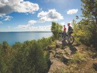 biking drummond island