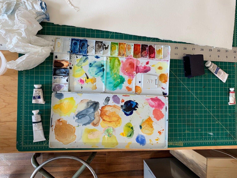 Brianne Farley Studio _ Photo by Molly Korroch _ 2
